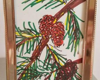 Pine Cones / Tree Drawing