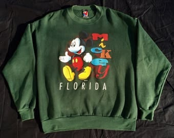 Vintage 90s Mickey Mouse Sweatshirt (Free Shipping)