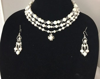Celebration Necklace and Earrings