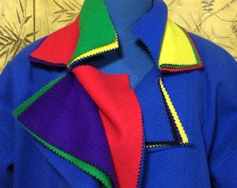 Jean Charles de Castelbajac wool coat