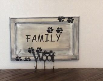 Woof Family Leash Hooks