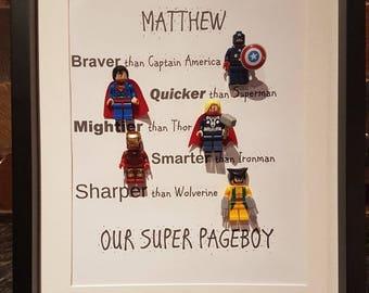Pageboy Superhero Gift Frame