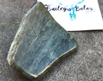 Green Serpentine Rock Bolo