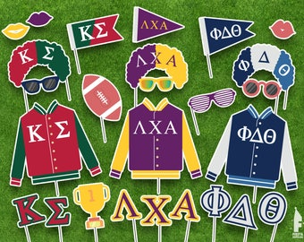 Printable Fraternities Props - Fraternities Photobooth Props- Fraternities and sororities Printable Props- Fraternities and sororities props