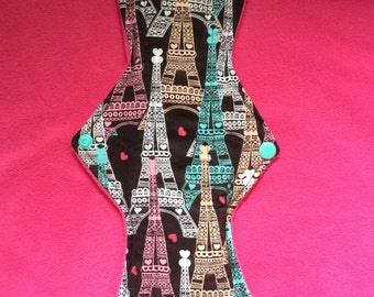 "10"" Midnight in Paris cloth pad (heavy)"