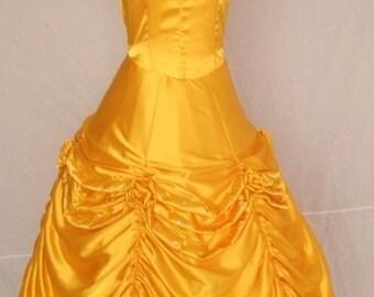 Belle Princess Dress Belle Cosplay Dress Belle Costumes Custom made Size