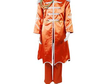 The Beatles Sgt. Pepper's George Harrison Uniform Cosplay Costumes