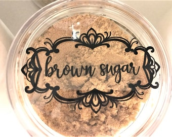 Kitchen Canister Label Decals, Custom Canister Decals, Jar  Labels, Pantry Organization Stickers, Flour Sugar Coffee Gluten free, declutter