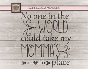 Mothers Day SVG, Mom DXF PNG, digital cut file, Mothers Day, instant download, clipart, Mommas place, Mom quote, vector image, cricut cut