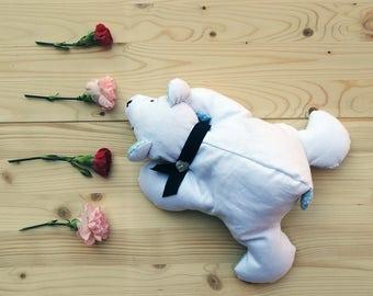 cotton teddy bear stuffed with kapok / Stuffed Bear /teddy bear toy