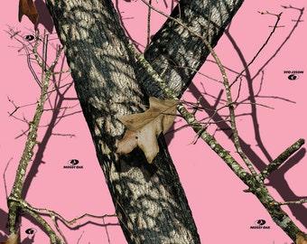 Mossy Oak Break-Up Pink Camo Vinyl Roll - Outdoor Adhesive Camo Vinyl Wrap - Vinyl Sheets by Mossy Oak Graphics