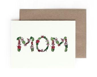 Mom Greeting Card / Made in Hawaii