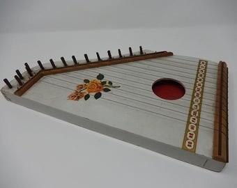 Old wood sitar