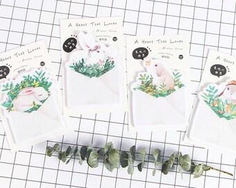 Lovely Bunny Sticky Notes