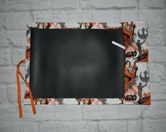 Chalkboard drawing mats,  chalk mats,  travel chalk mats, disney, star wars, Rogue one