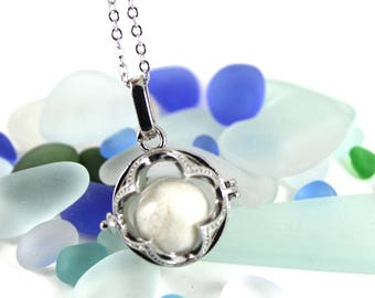 DIY Breast Milk Openwork Flower Locket Kit, Do it Yourself DNA Breastmilk keepsake.