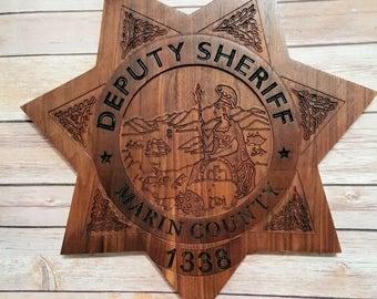 Deputy Sheriff's Marin County