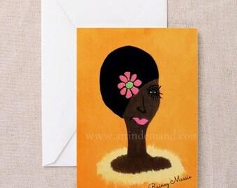 Feeling Prissy - blank notecards