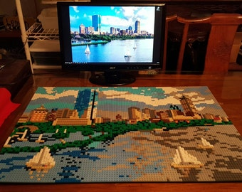 3D mosaic of any picture