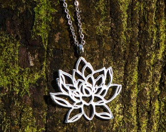Sacred Geometry Magic - Lotus Necklace