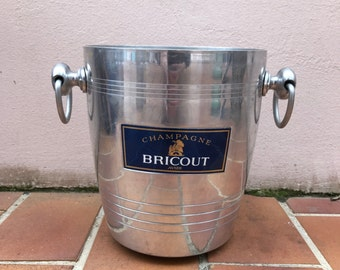 Vintage French Champagne French Ice Bucket Cooler Made in France BRICOUT