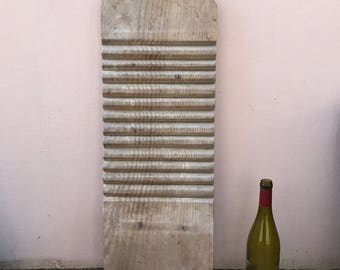 Vintage French wood Washing Board old french france 30031722