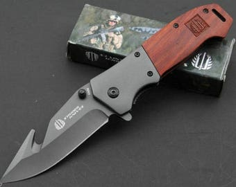 Pat 11.5 cm Strider handle survival knife blade stainless 9 cm