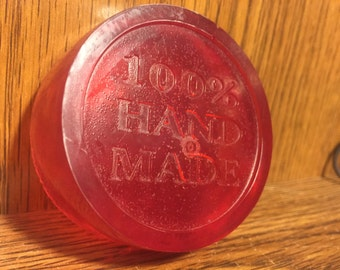 100% handmade glycerin soap