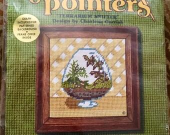 "70's Vintage Needle Pointers #5341 ""Terrarrium Snifter"" Unopened Kit"