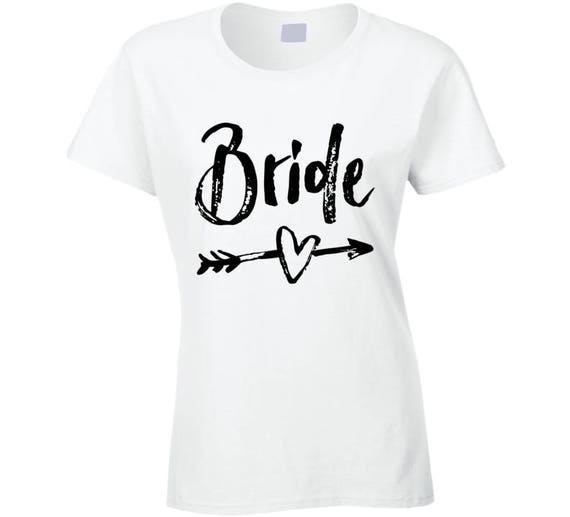 Bride Shirt, Bridal Party Shirt, Bachelorette Party  Bride Shirt. Bridal Shirt. Bride Tee. Bachelorette T-shirt. Wedding Shirts.