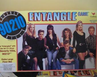 Vintage beverly hills 90210 entangle tv board game