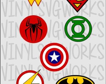 Super Hero SVG FILE PACK