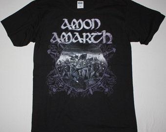 Amon Amarth Battle black t shirt