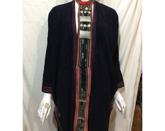 Vintage tribal RedDao necktie for women from Sapa,Lao Cai,north of Vietnam