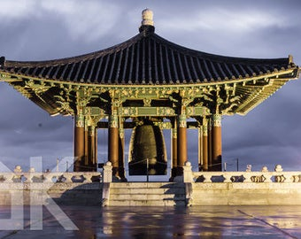 KOREAN BELL photo 8x10 print