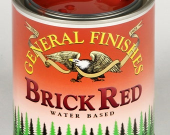 General Finishes Milk Paint (Brick Red)