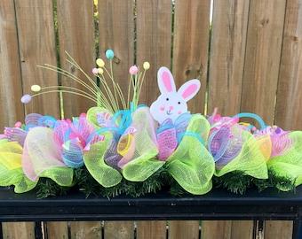 On sale!! Easter Garland,Easter garland for mantle,spring Garland,spring centerpiece,Easter centerpiece