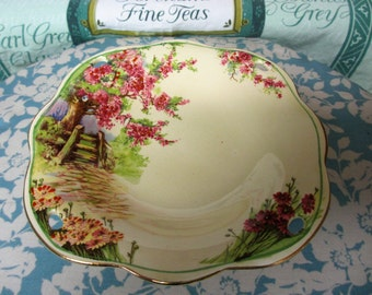 Vintage Petite Dessert Serving Plate