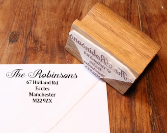 Calligraphy Address Stamp