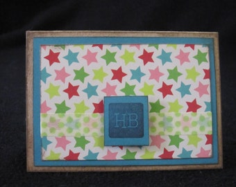 Happy Birthday Mini Gift Card