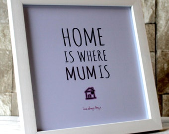 Personalised Gift for Mum-Frame Mum-Mother's Day Frame - Mum Photo Frame-Mummy Frame-Step Mum Frame-Mothers Day Gift-1st Mothers Day- Mum