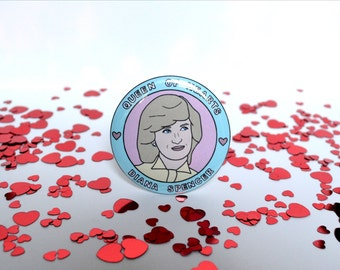 Princess Diana - 58mm - Badge
