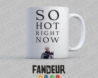"""Mugatu """"So Hot Right Now"""" Coffee / Tea Mug - Zoolander"""