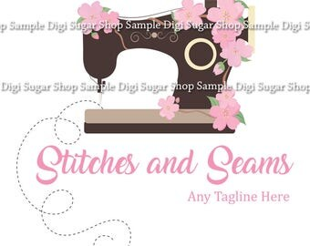 Sewing Logo - One PNG/Vector Image - Customized for your business - Only ONE available