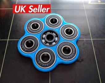 Fidget spinner toy - 3D printed hex spinner - spinner fidget toy|hand spinner|edc spinner|hand spinner|pocket spinner|torqbar|fidget cube