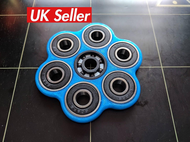 Ausmalbilder Fidget Spinner: Fidget Spinner Toy 3D Printed Hex Spinner Spinner Fidget