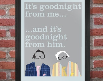 The 2 Ronnies - Poster Print