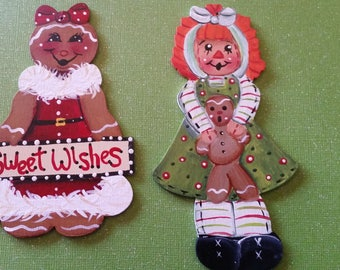 Festive girl ornaments
