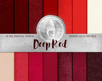 70% OFF Deep Red Paper