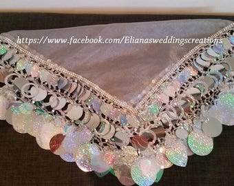 custom made wedding  yalekhta( assyrian dancing scarf)